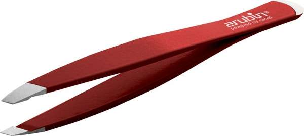 Pinzette schräg mit Nagelhautschieber | farblich