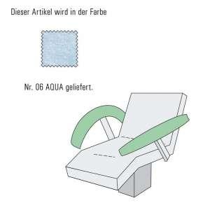 Armlehnenbezug-Aqua