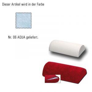 Bezug für Handauflage-aqua