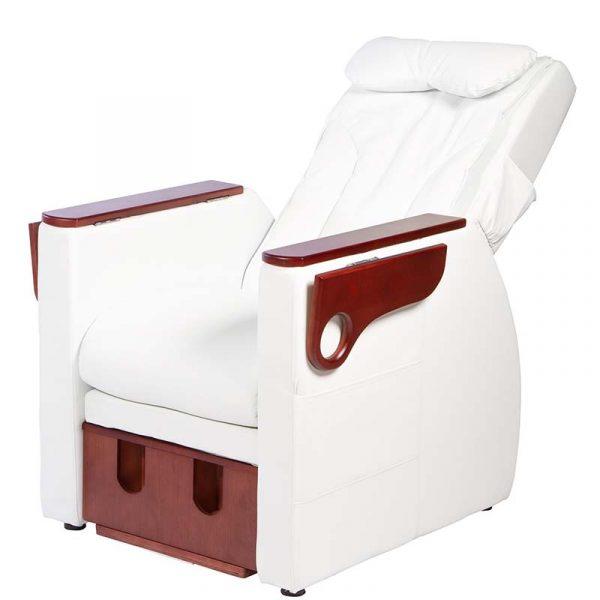 Fußpflegestuhl Nassau - verstellbare Rückenlehne
