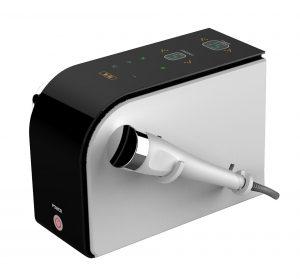 H2103 Ultraschall in schwarz mit Touchscreen